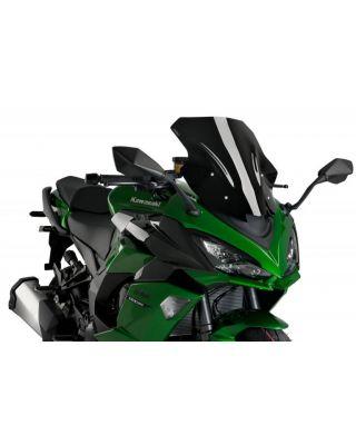 Windscreen PUIG RACING 20471N črna