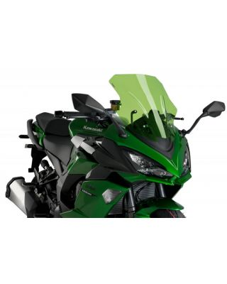 Windscreen PUIG RACING 20471V zelena