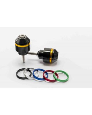 Bar ends PUIG SHORT WITH RING 8034N colour rings included