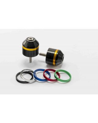 Bar ends PUIG SHORT WITH RING 8505N colour rings included