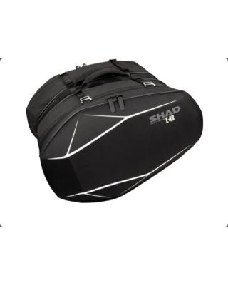 """SHAD Stranske torbe E48 """"saddle bag"""" - poltrde"""