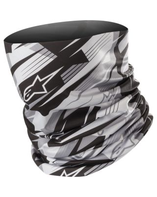 Alpinestars ovratnica Neck Tube Blurred – črna /antracit
