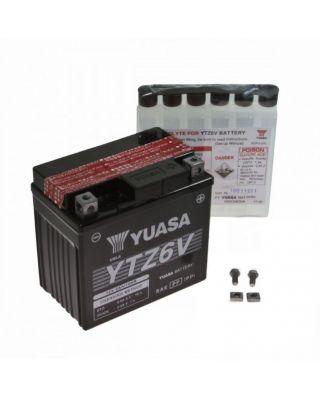 Maintenance-free battery YUASA YTZ6V