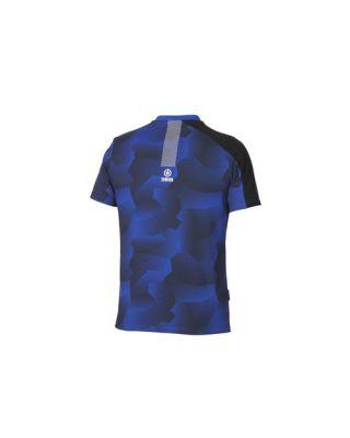 Moška majica Paddock Blue s kamuflažnim vzorcem blue/black,M