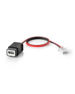 Polnilnik za naprave USB 5 V Black