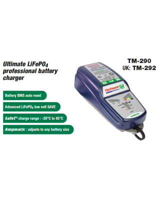 LITHIUM-ION BATTERY CHARGER (OptiMATE)