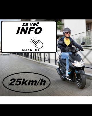 OMEJEVALEC HITROSTI  SKUTER BLOKADA 25 km/h