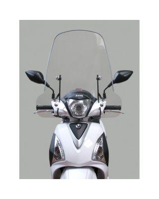 SYM Vetrobransko steklo - povišano 52,5cm