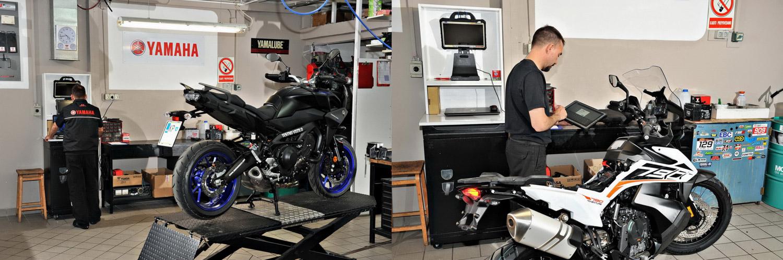 Yamaha in KTM servvis